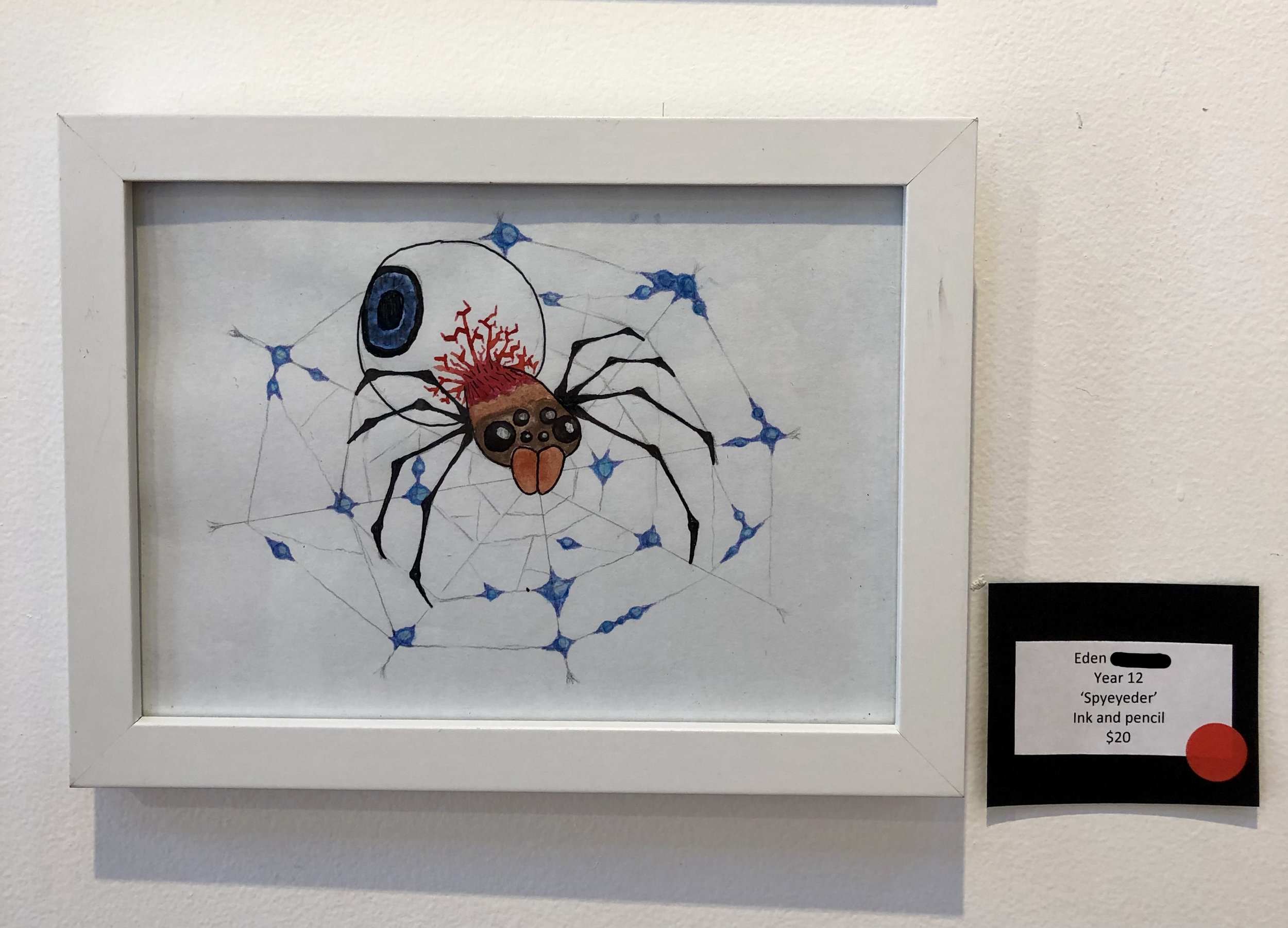 """Spyeyeder"" by Eden (Year 12)"