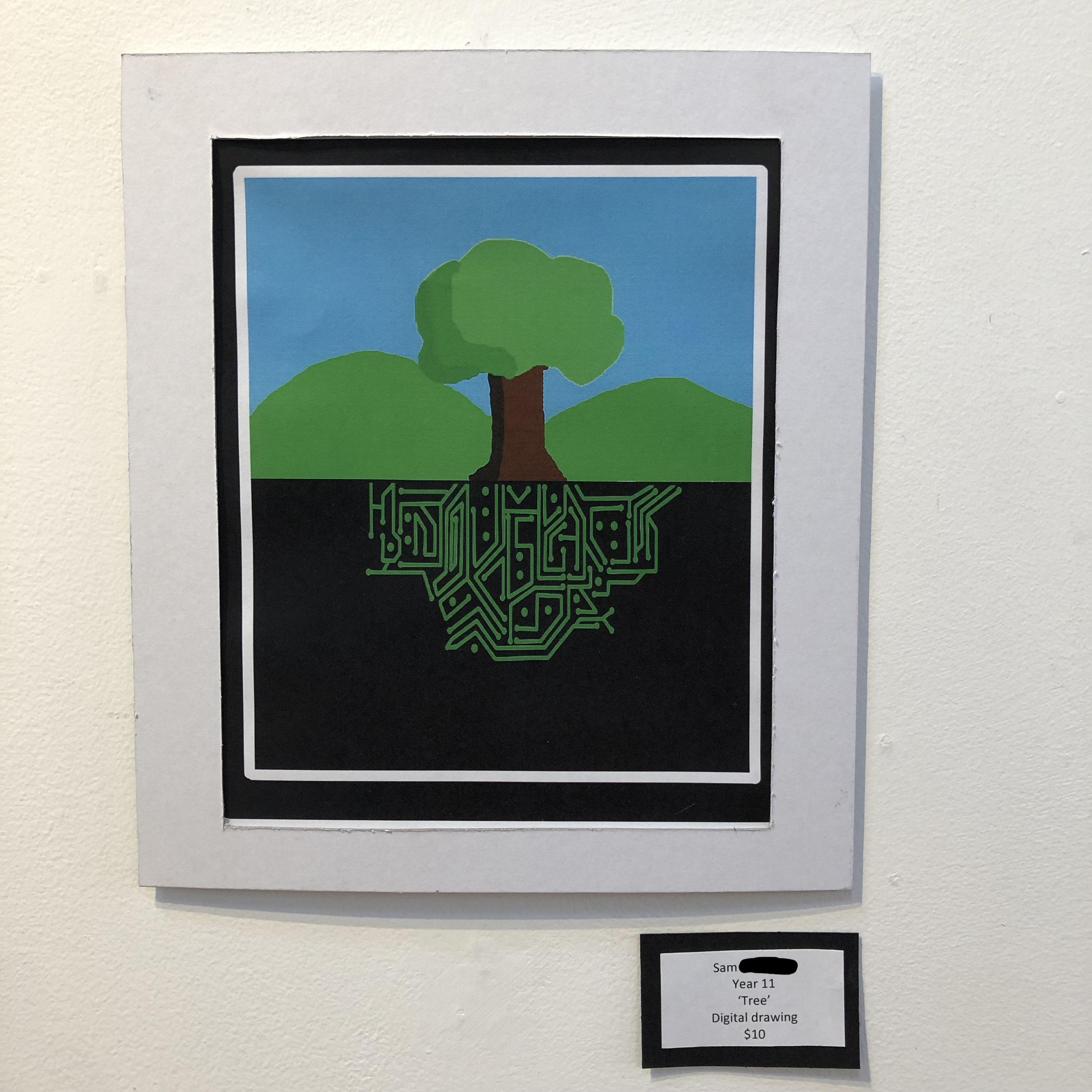 """""""Tree"""" by Sam (Year 11)"""