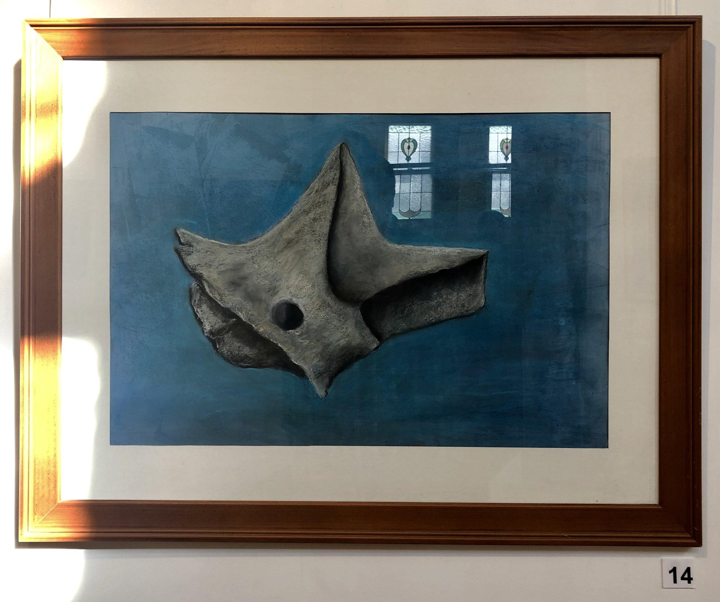 """""""Vertebrae 1 - Kangaroo"""" by Lisa Timms Stevens"""
