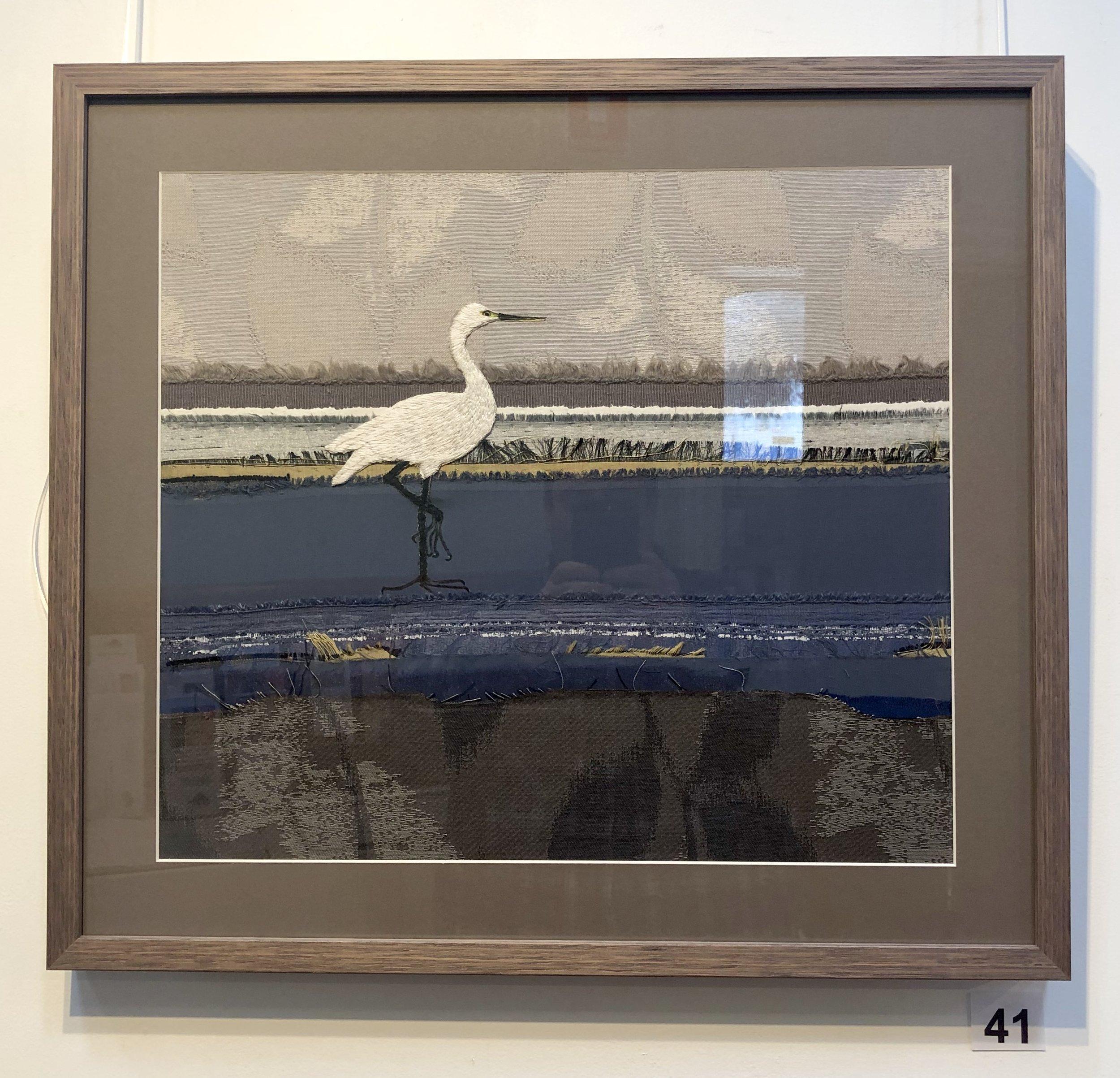 """Heron"" by Dinah Barton"