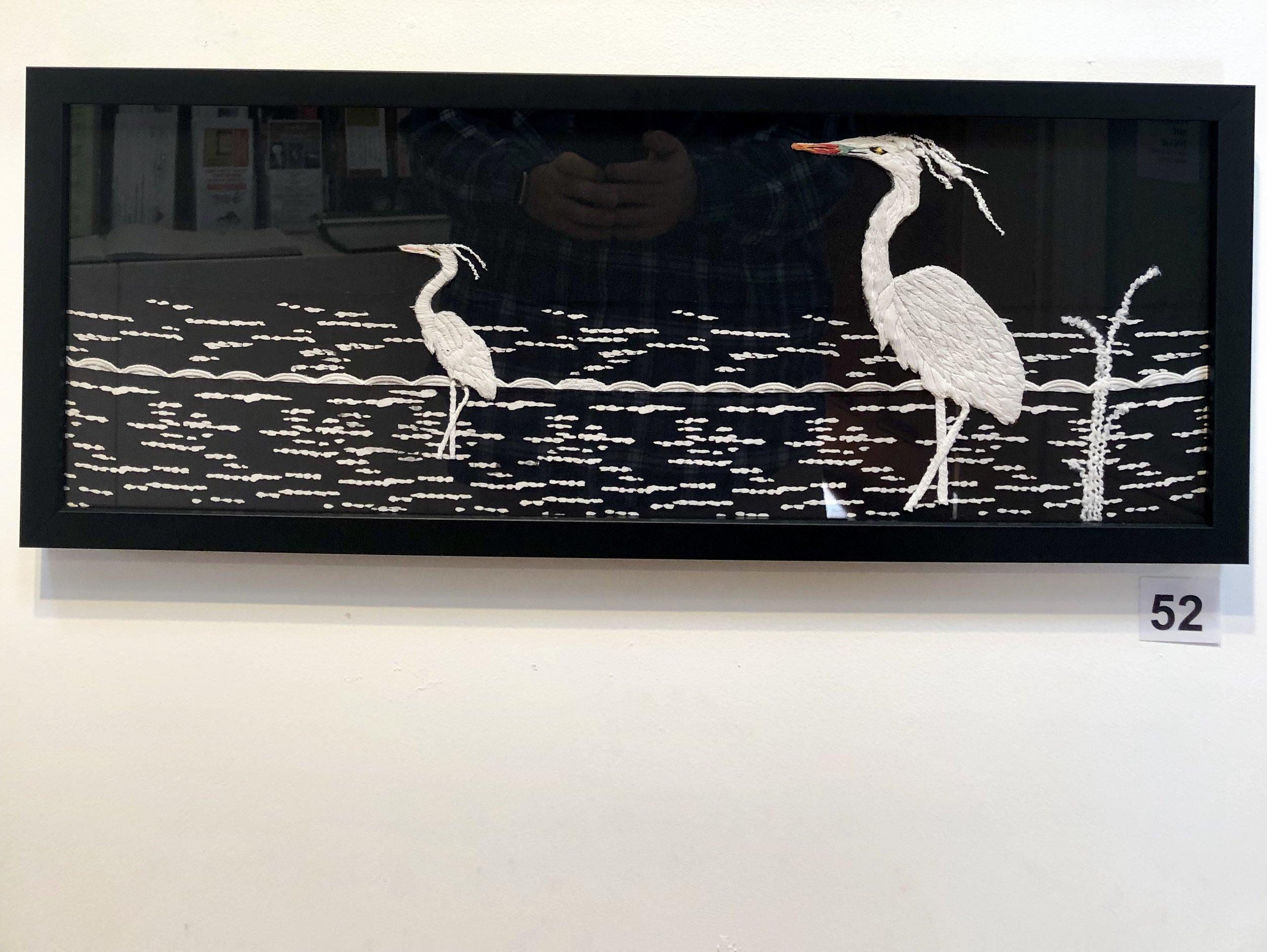 """Egrets"" by Dinah Barton"