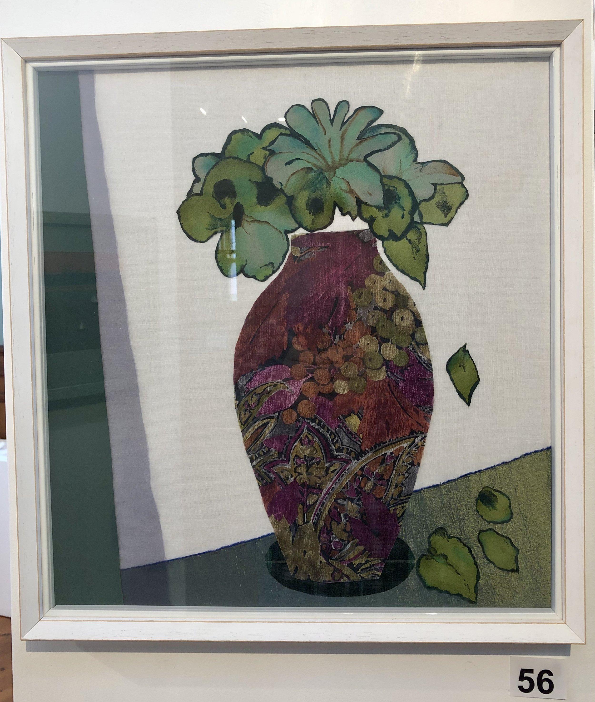 """Green Lilies"" by Dinah Barton"