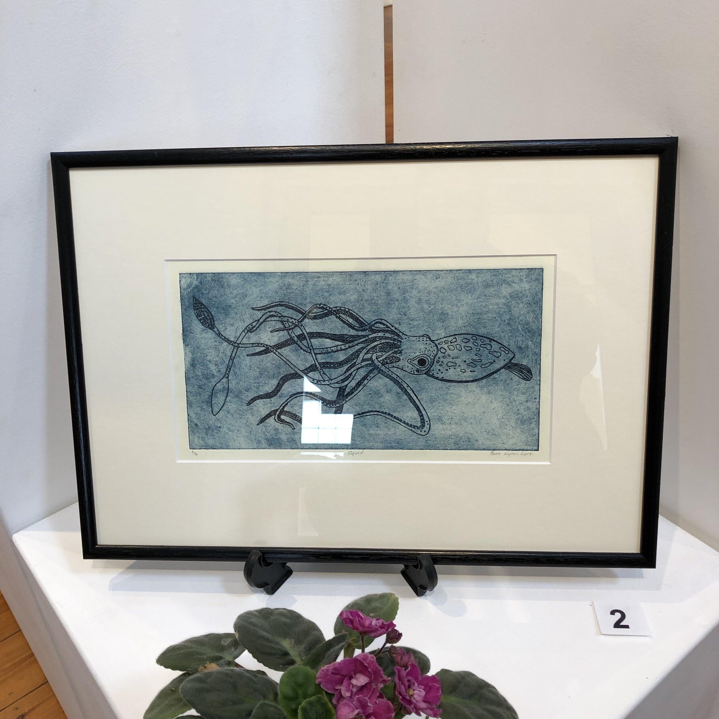 """""""Squid"""" by Rosie Lyons"""