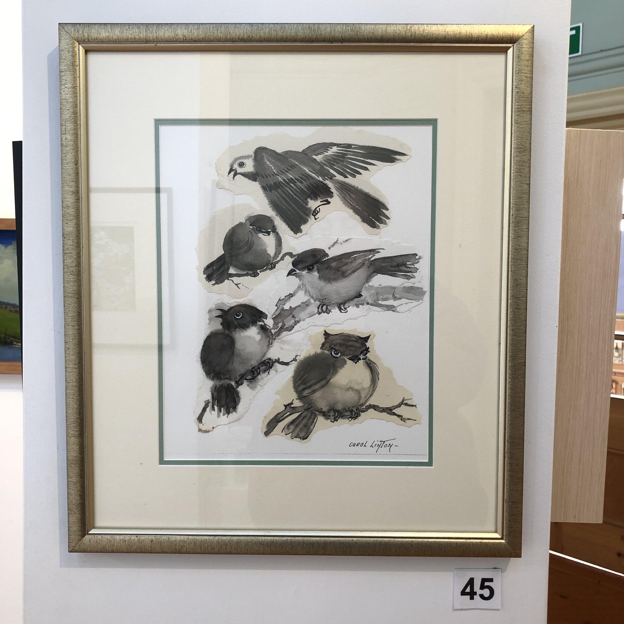 """Bird Collage"" by Carol Linton"