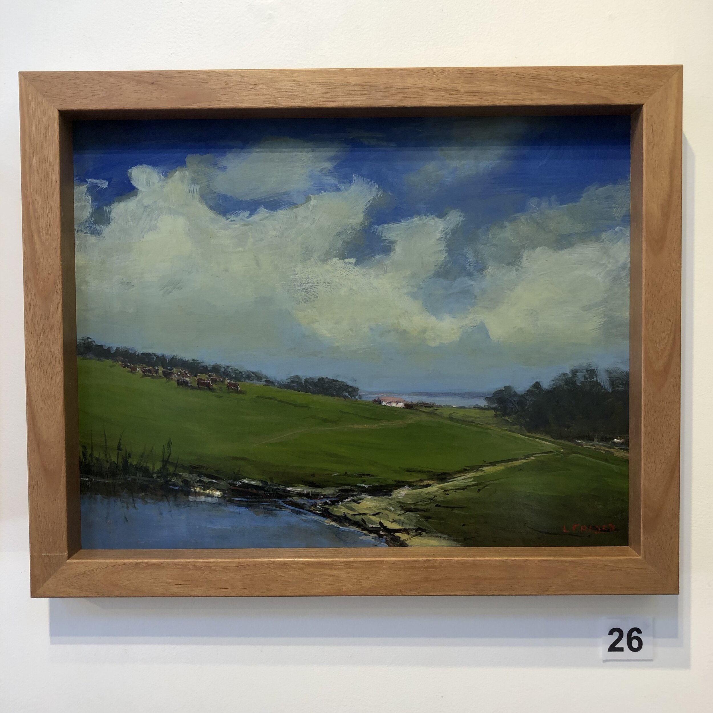 """""""Inlet Farm view"""" by Leigh Fraser"""