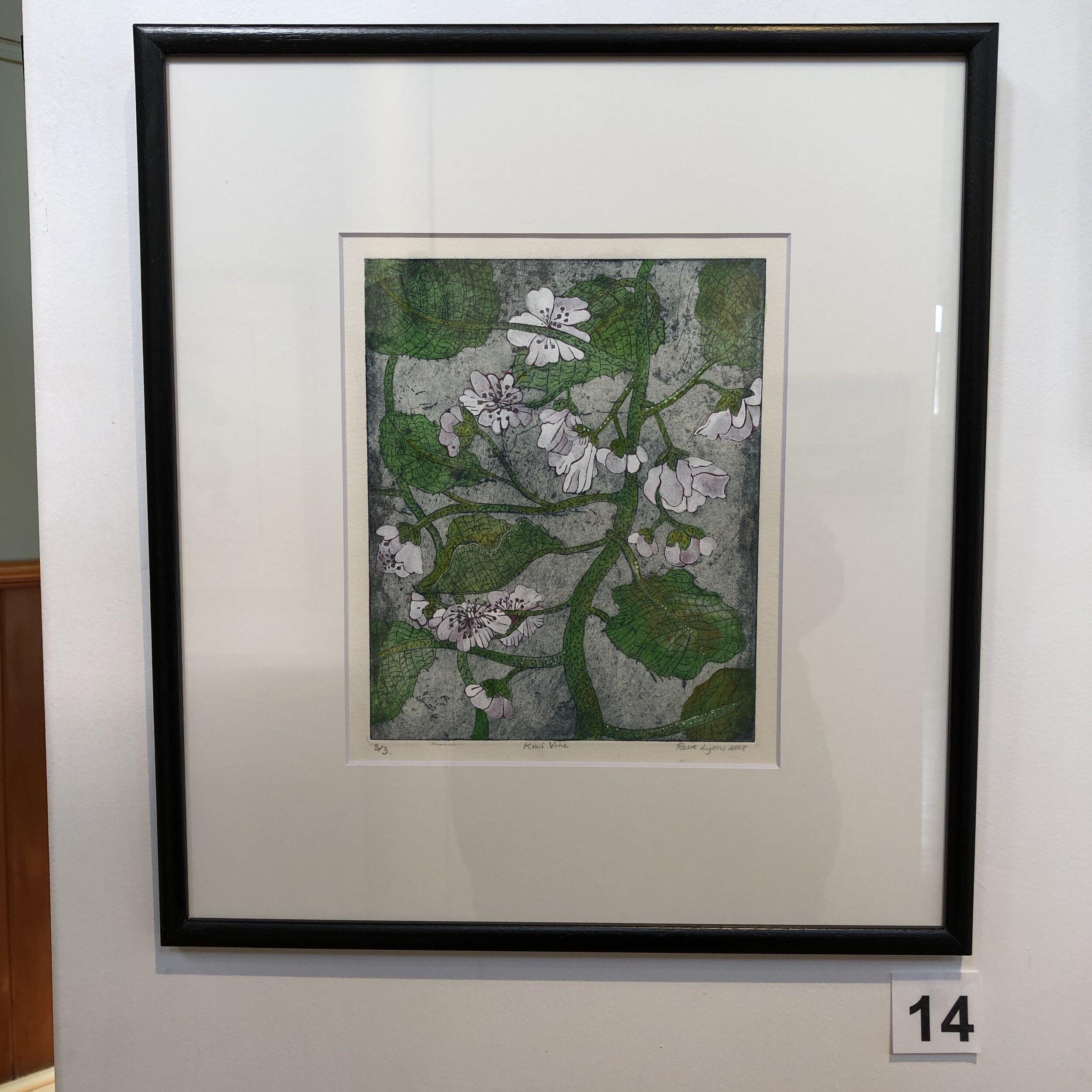 """""""Kiwi Blossom"""" by Rosie Lyons"""