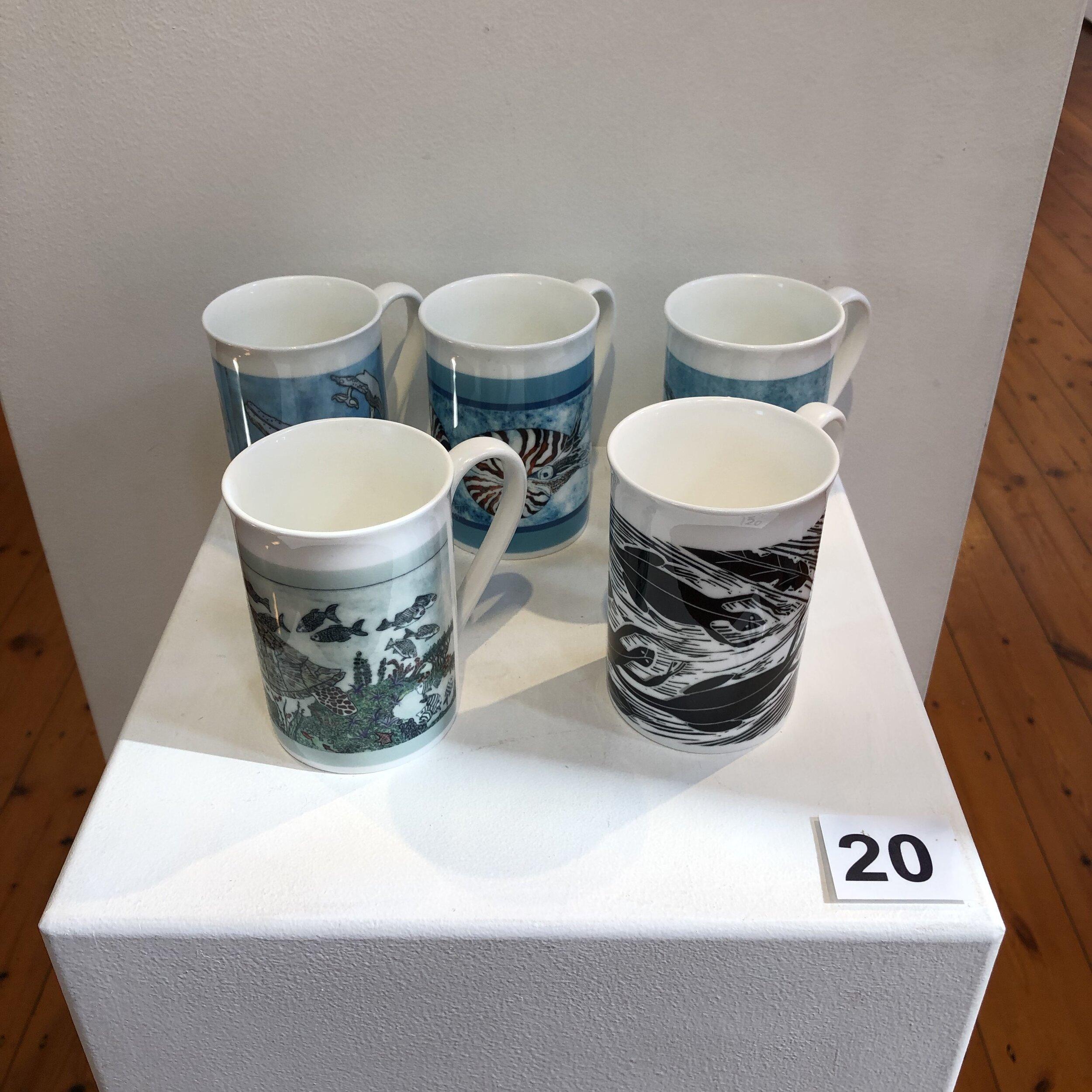 """""""Printed Mugs"""" by Rosie Lyons"""