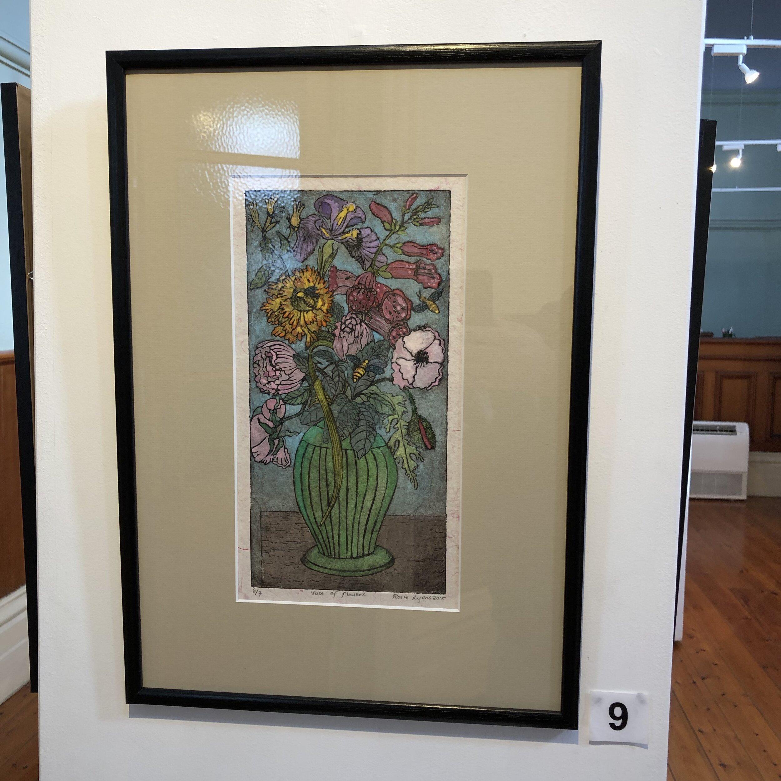"""""""Vase of Flowers"""" by Rosie Lyons"""