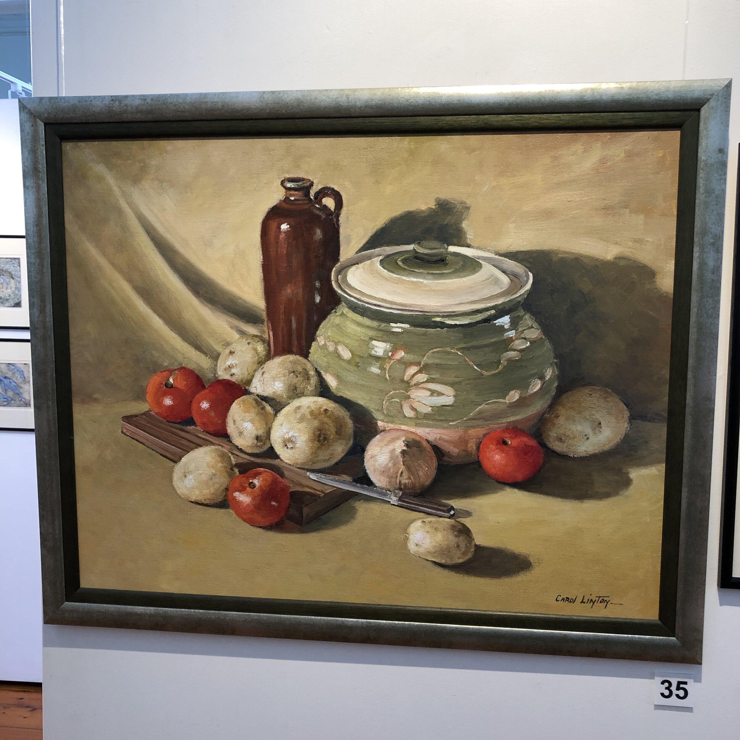 """Still Life with Casserole"" by Carol Linton"