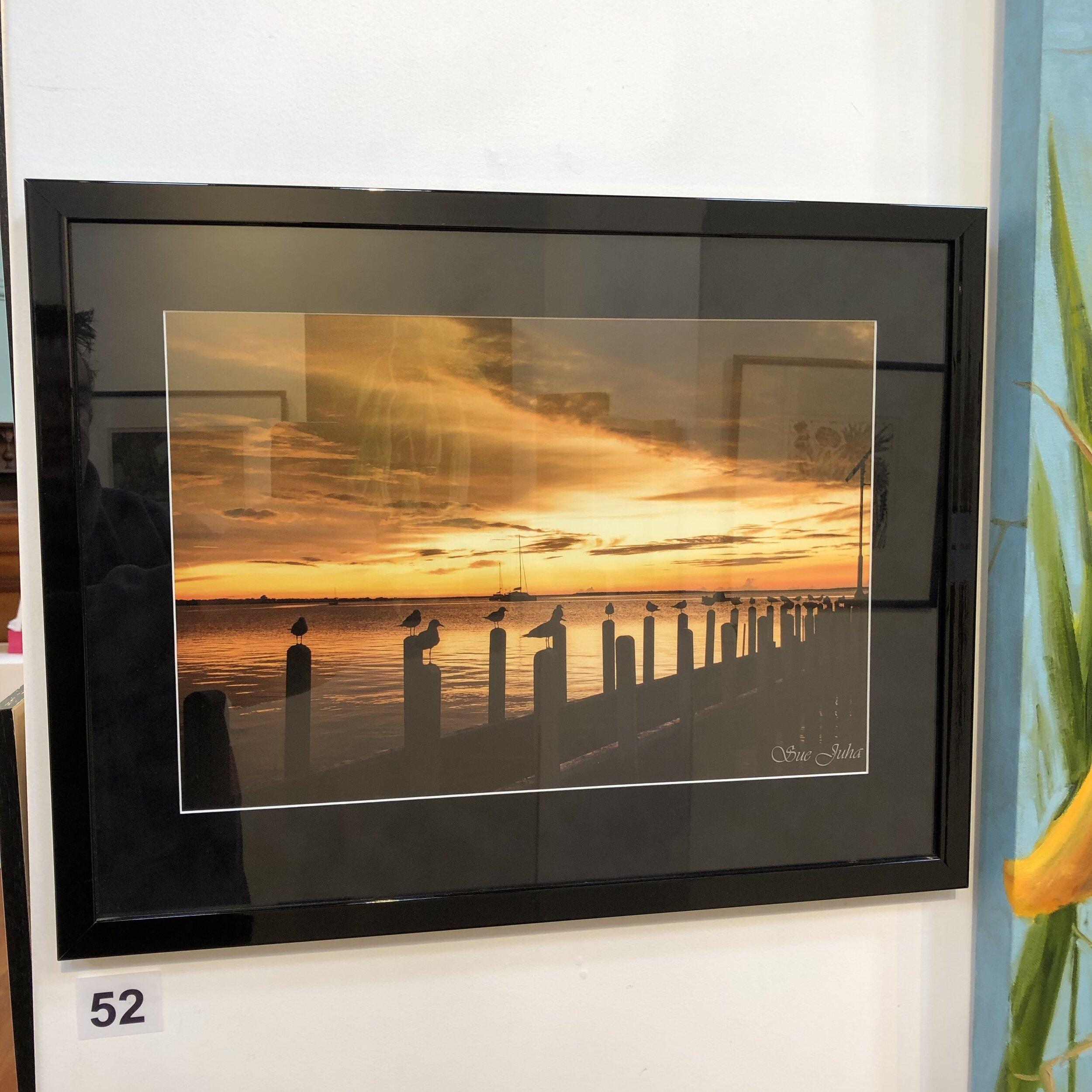 """Sun rising over Port Albert"" by Sue Juha"