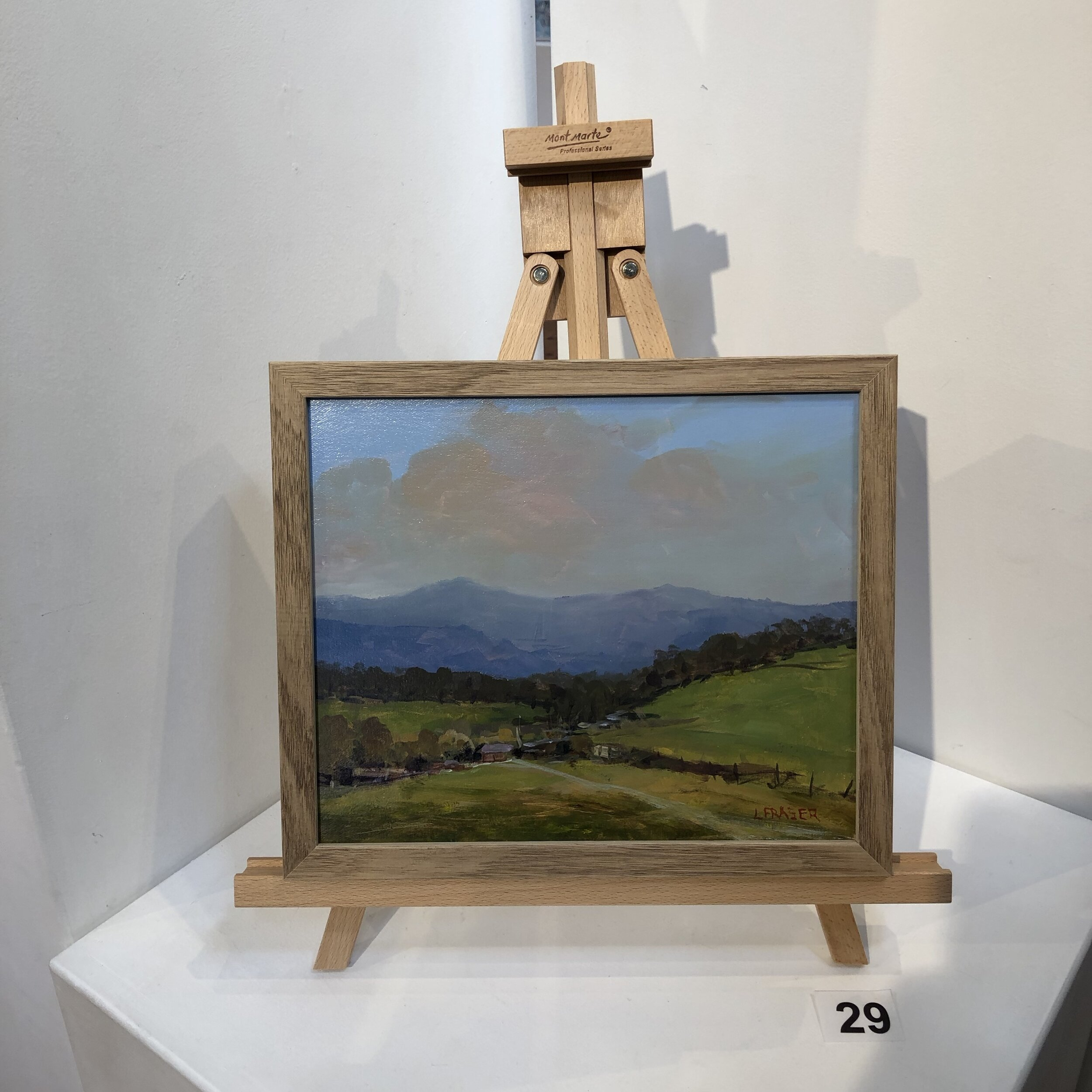 """Yarra Valley view"" by Leigh Fraser"