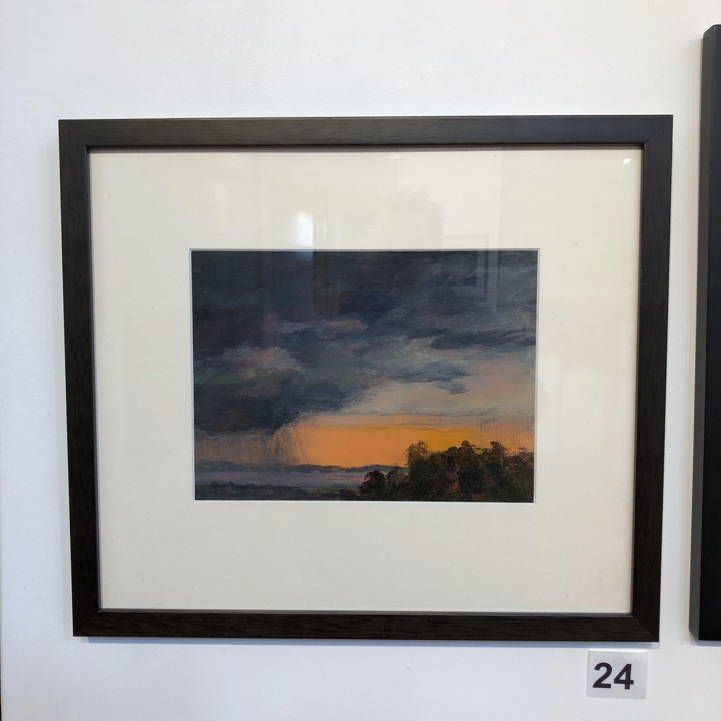 """Cloud Burst"" by Leigh Fraser"