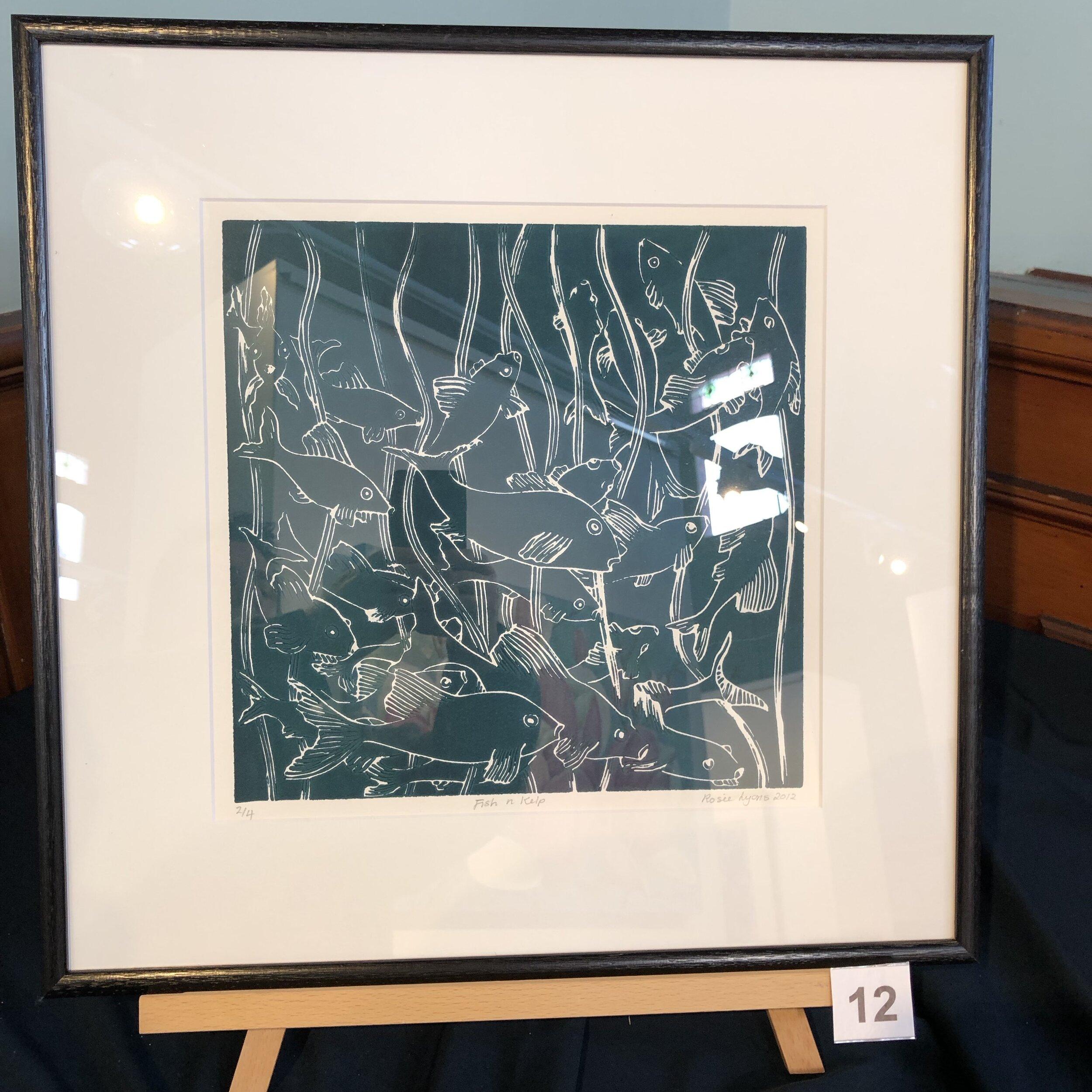 """""""Fish in Kelp"""" by Rosie Lyons"""