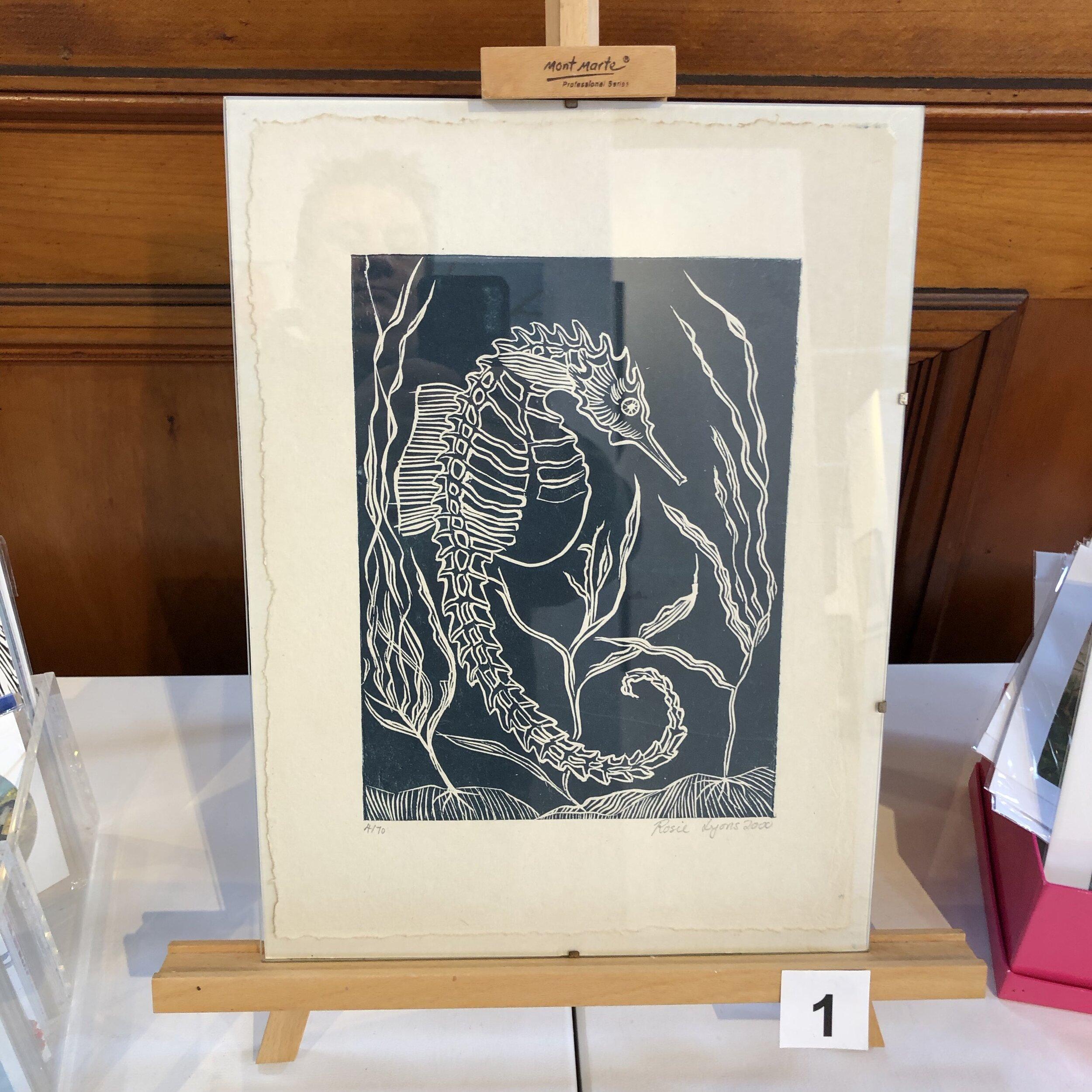 """""""Seahorse"""" by Rosie Lyons"""