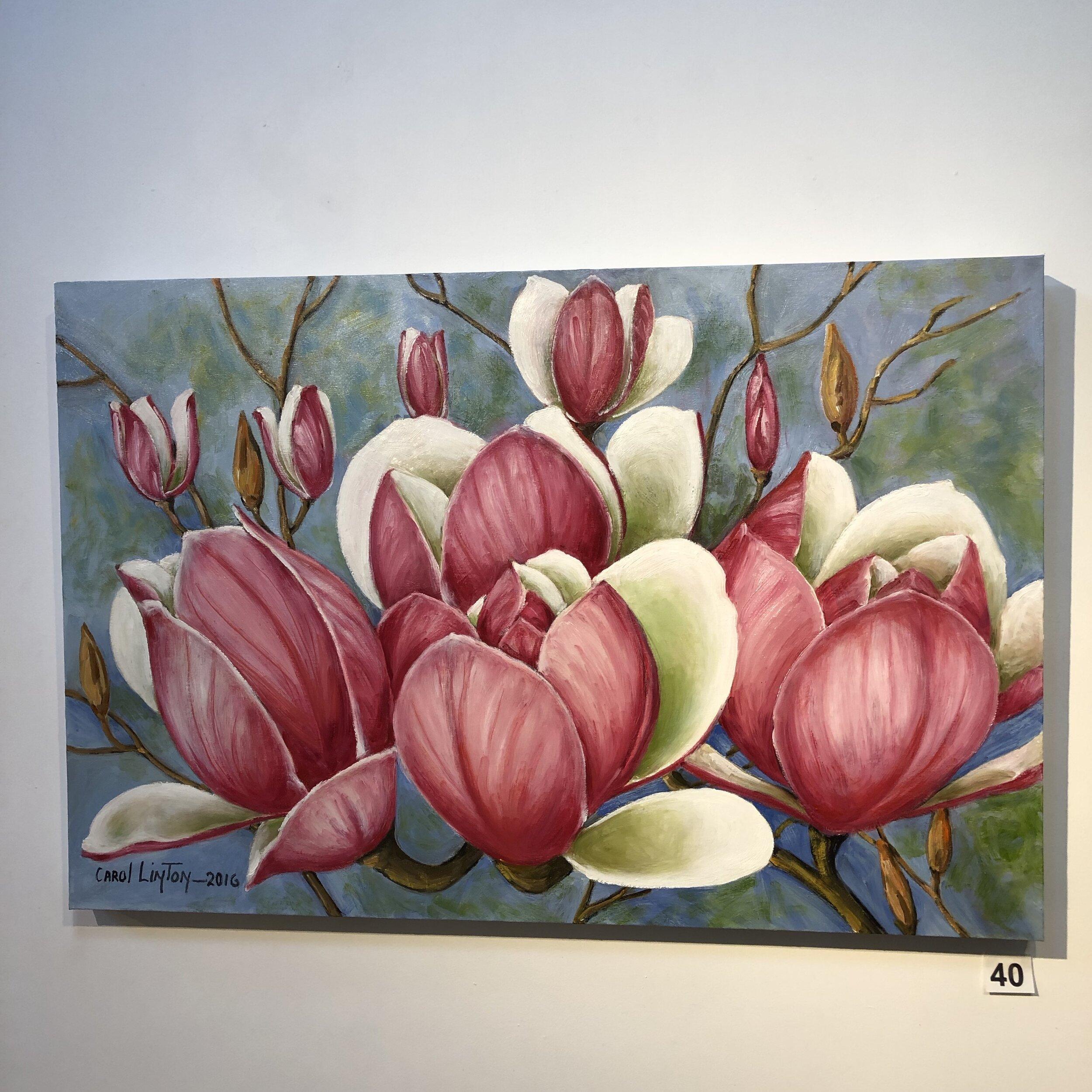 """""""Magnolias"""" by Carol Linton"""