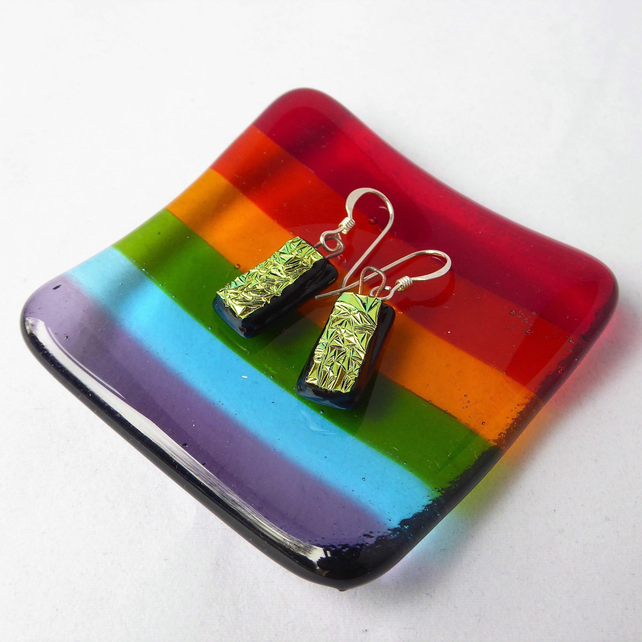 Rainbow small dish