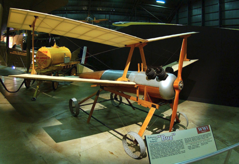 Kettering Bug, first UAV used by U.S. military in WWI Image courtesy    Smithsonian Magazine