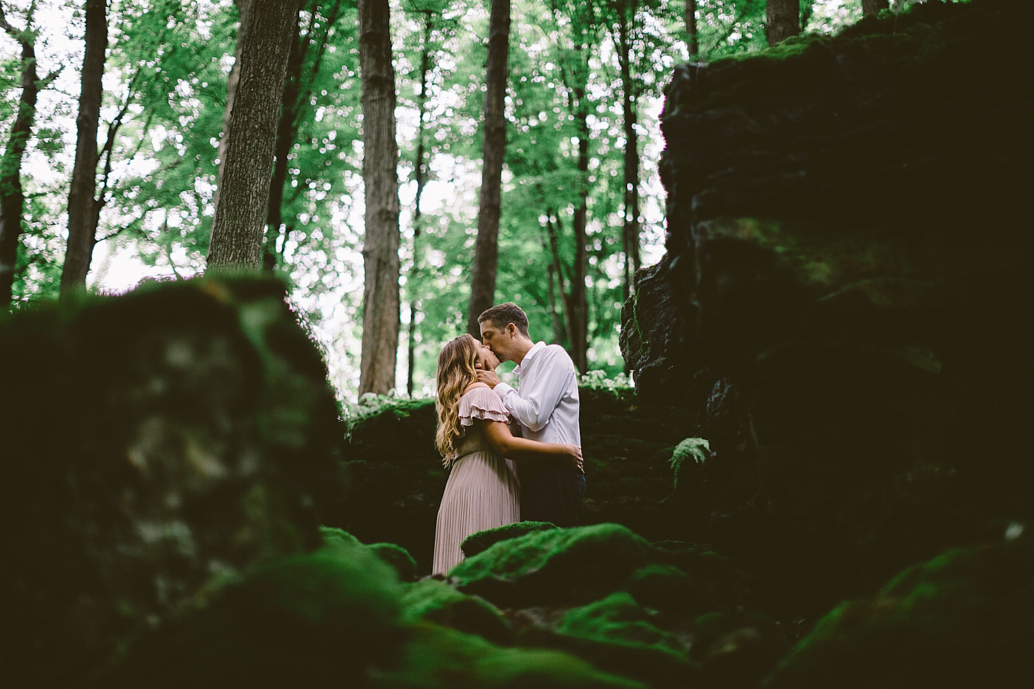 Hamilton Ontario engagement session romantic