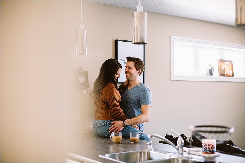 lifestyle couple session at home kitchener waterloo toronto photographer