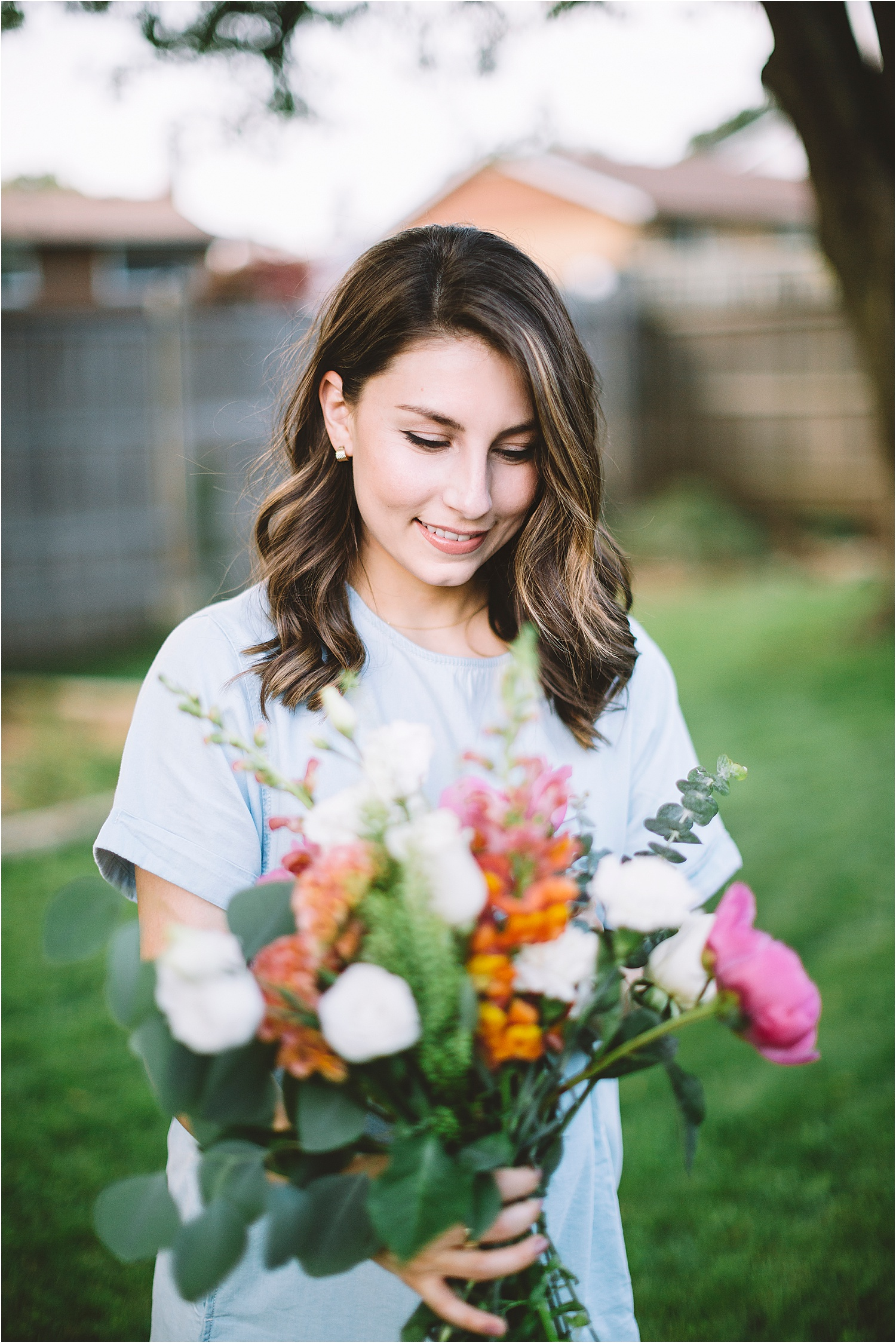 florist portrait session kitchener