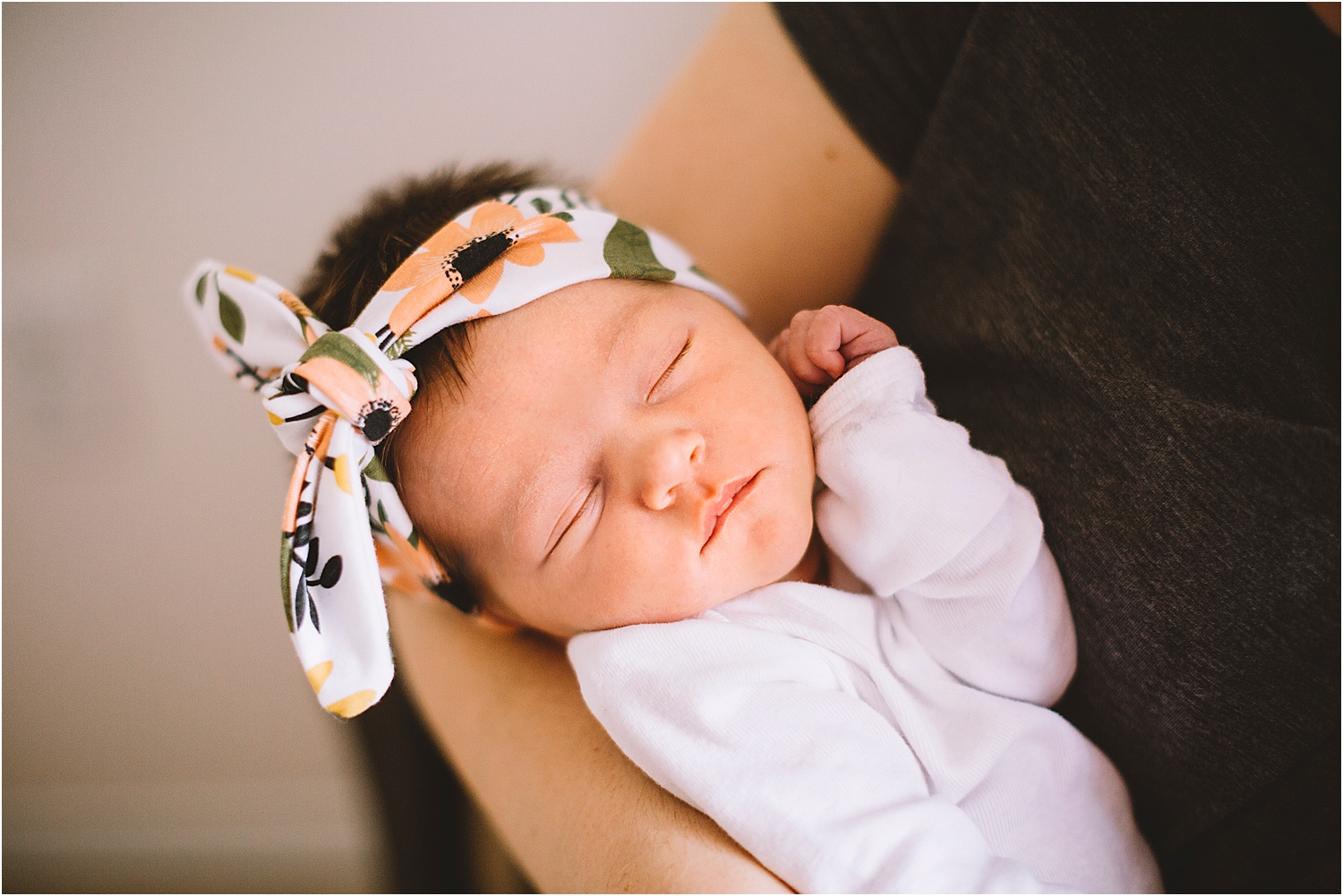 kitchener newborn session