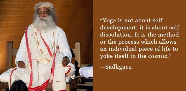 Sadhguru: Yoga transforms us back to the cosmos