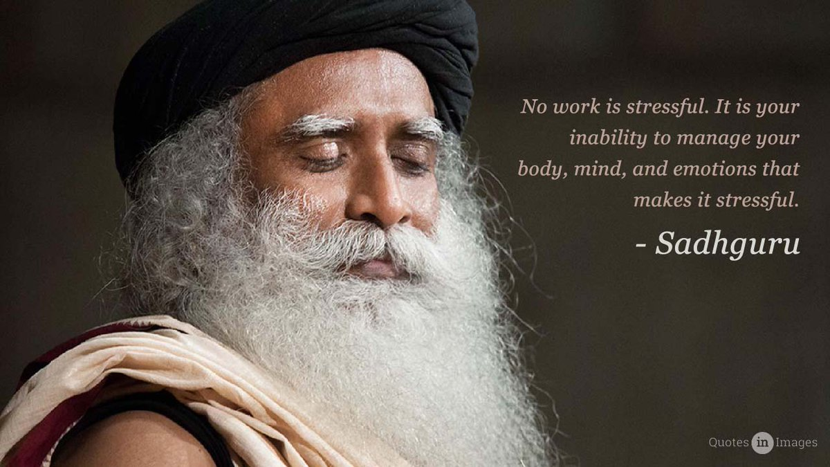 Photo credit: Sadhguru: Yoga and stress