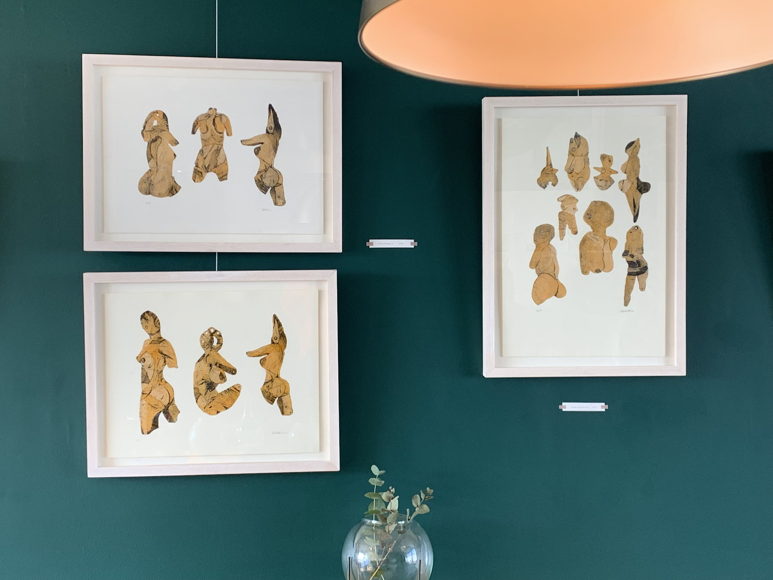 A selection of prints from 'Vague Deities' In ÒR