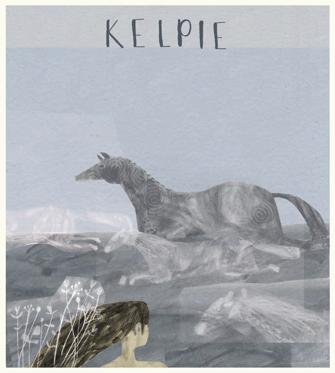 Brian McHendry 'Kelpie' postcard, commissioned exclusively for ÒR