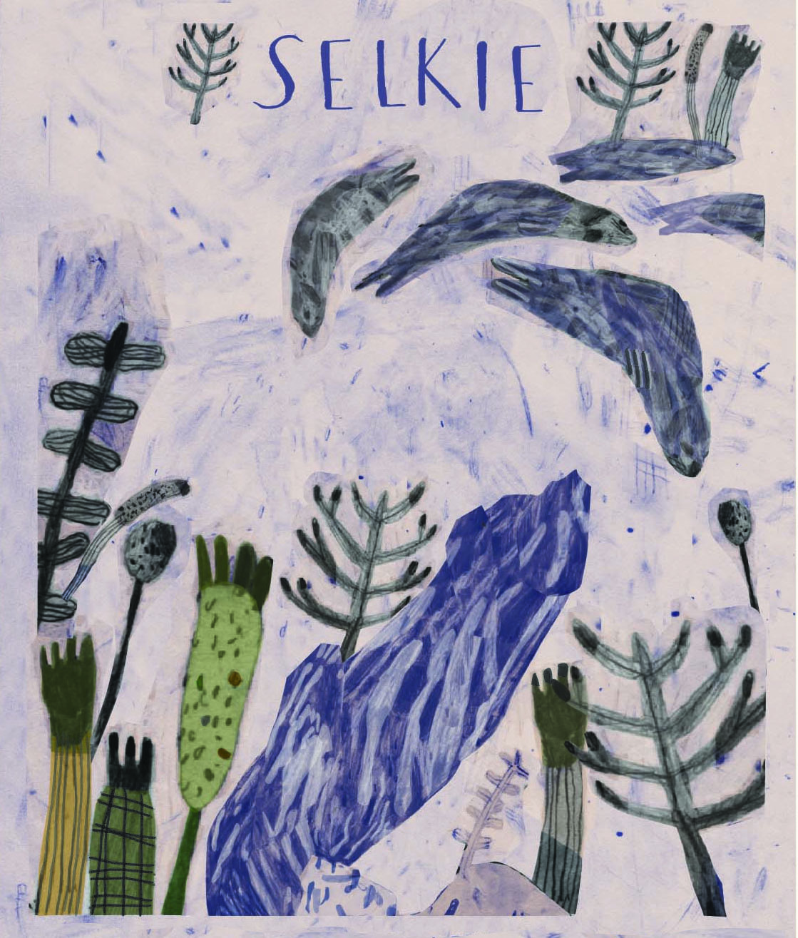 Brian McHendry 'Selkie' postcard, commissioned exclusively for ÒR