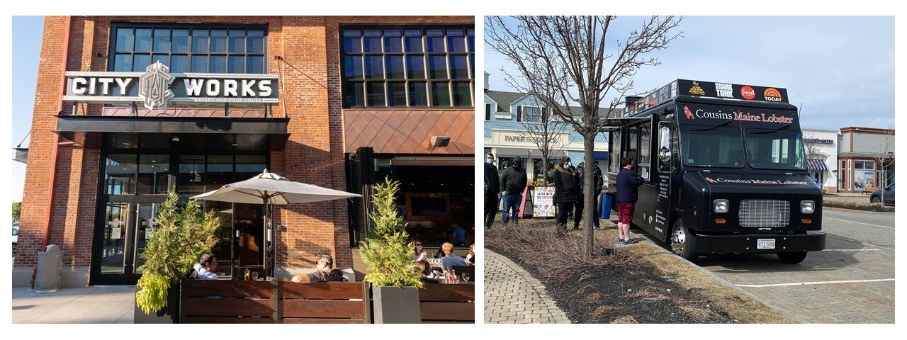 Outdoor Dining Options at Arsenal Yards and Wayside