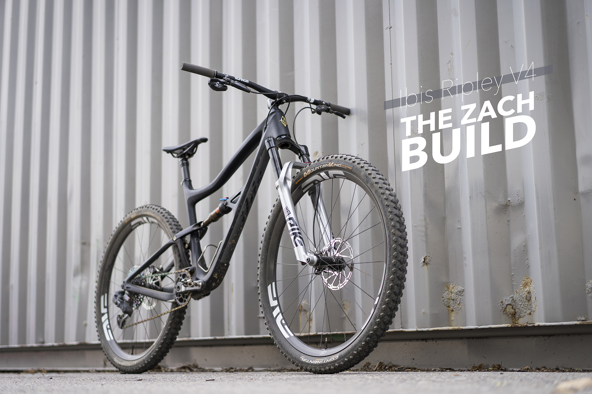 "The ""Zach Build"" comes with Enve Composites wheels and cockpit, Sram AXS Eagle XX1 and a Rockshox Pike Ultimate. Now that will make your friends jealous."