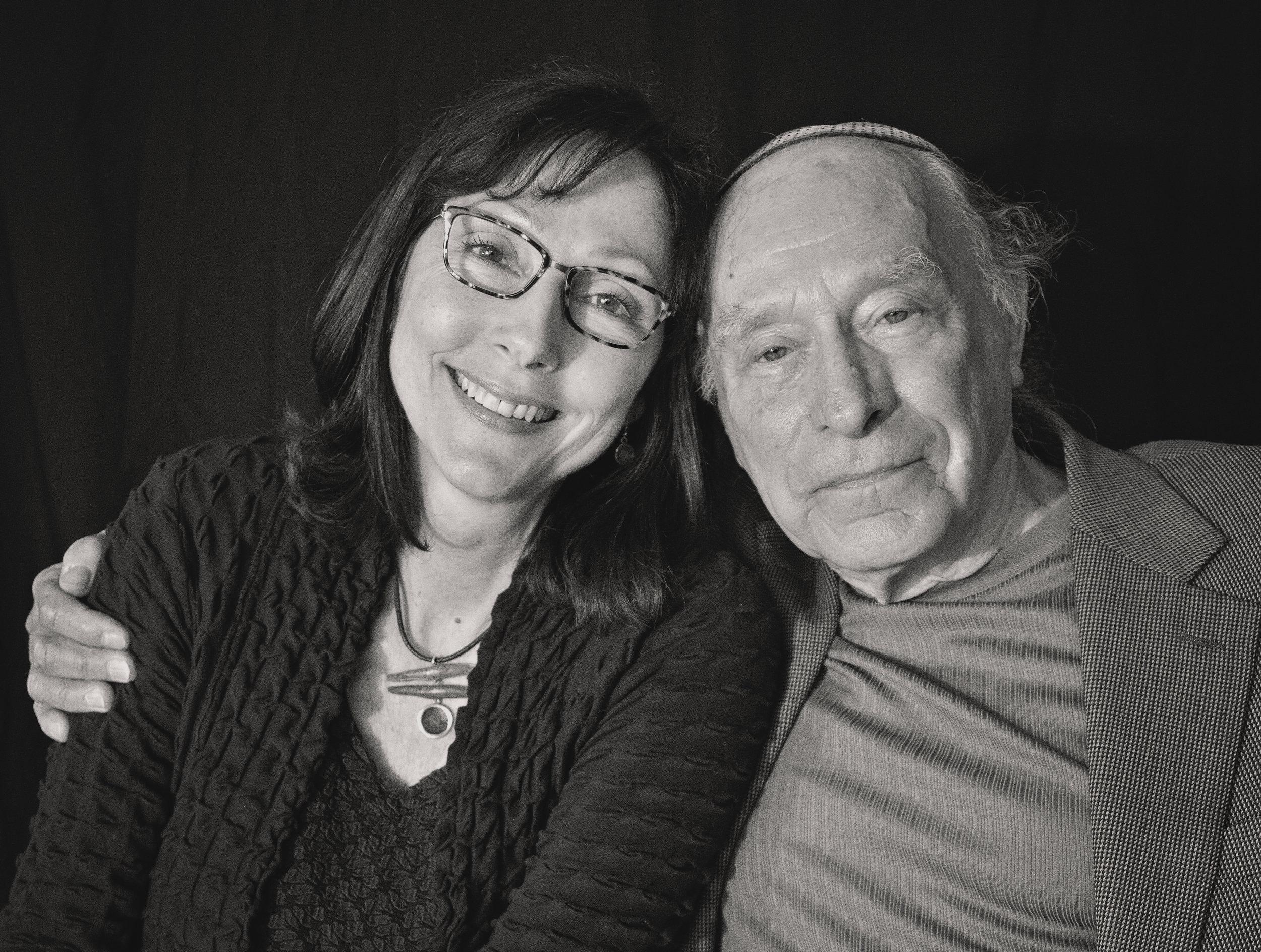 Songwriter Kelleigh McKenzie with Survivor Tibor Spitz