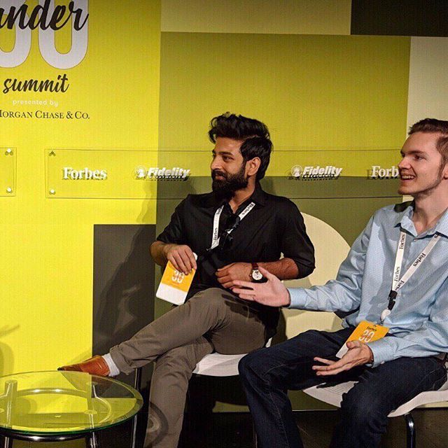 CEO Josiah Nelson and CTO Tirthak Saha (@tirthaksaha) mingling at last year's @forbesunder30 conference in Boston. Definitely was a highlight of the year - excited for what's coming in 2019! ⠀⠀⠀⠀⠀⠀⠀⠀⠀ ⠀⠀⠀⠀⠀⠀⠀⠀⠀ ⠀⠀⠀⠀⠀⠀⠀⠀⠀ ⠀⠀⠀⠀⠀⠀⠀⠀⠀ ⠀⠀⠀⠀⠀⠀⠀⠀⠀ ⠀⠀⠀⠀⠀⠀⠀⠀⠀ ⠀⠀⠀⠀⠀⠀⠀⠀⠀ ⠀⠀⠀⠀⠀⠀⠀⠀⠀ ⠀⠀⠀⠀⠀⠀⠀⠀⠀ ⠀⠀⠀⠀⠀⠀⠀⠀⠀ ⠀⠀⠀⠀⠀⠀⠀⠀⠀ #sanfrancisco #cleantech #carbonengineering #hydrogen #climatechange #climatechangeisreal #globalwarming #science #energy #students #renewableenergy #renewable #aluminium #technology #tech #carbon #zeroemissions #sdg #sdgs #un #entrepreneurship #electricity #future #siliconvalley #earth #planet #environment #30under30