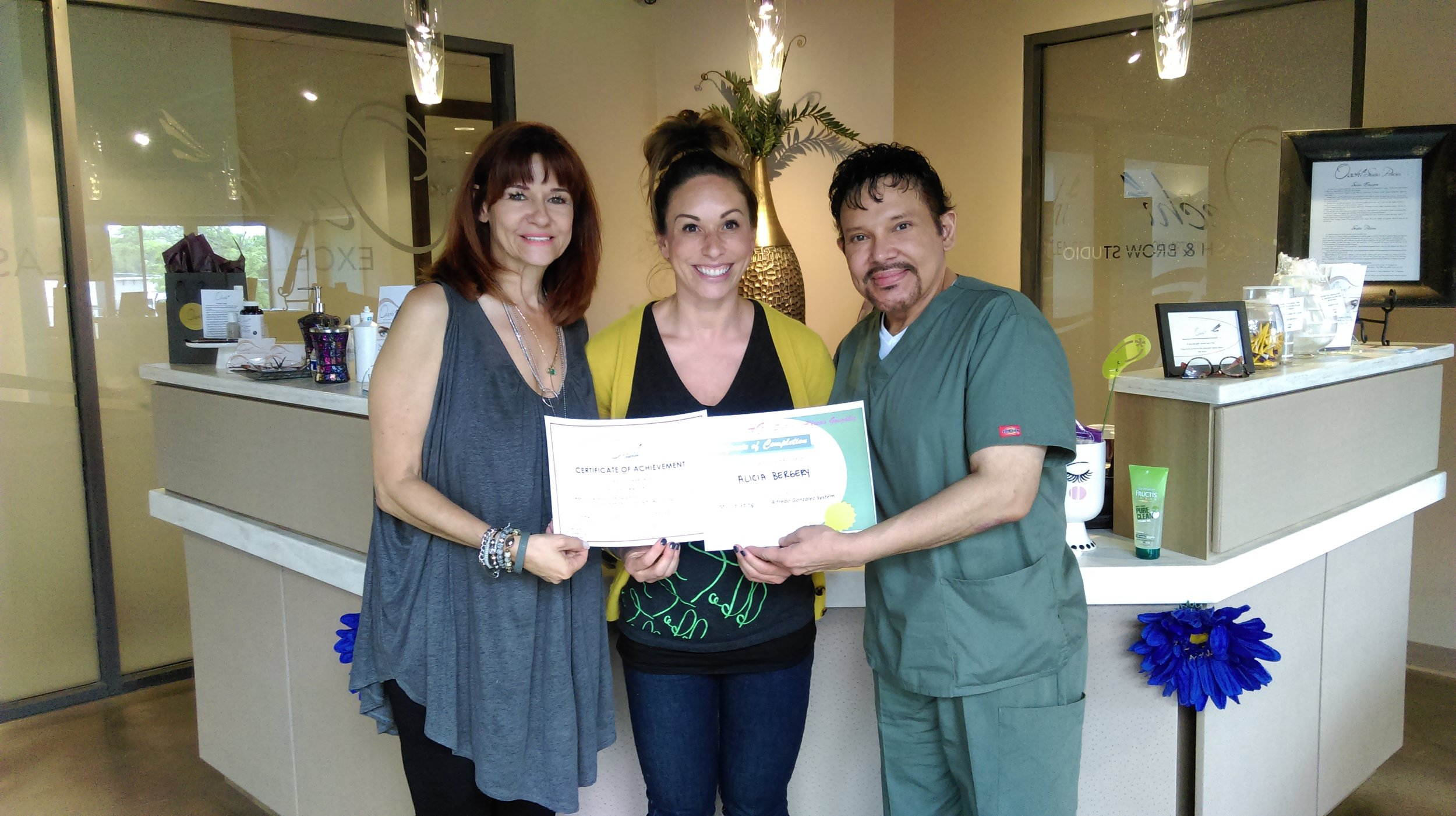 Alicia Bergery (IN.): Microblading Class - June 2016
