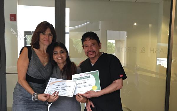 Urmila Patel (IL.): Microblading Class - October 2016
