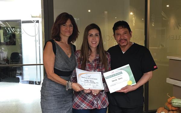Annette Daniels (IL.): Microblading Class - October 2016