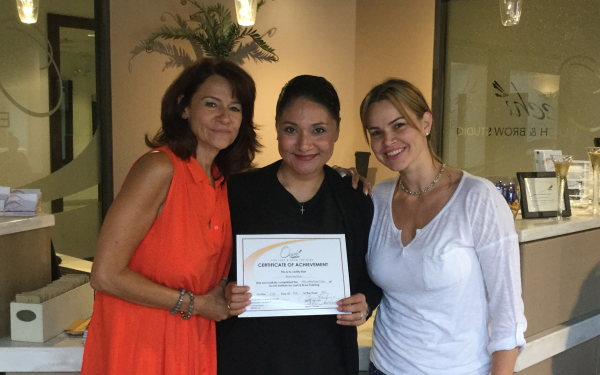 Rosa Sanchez (IL.) Microblading - July 2017