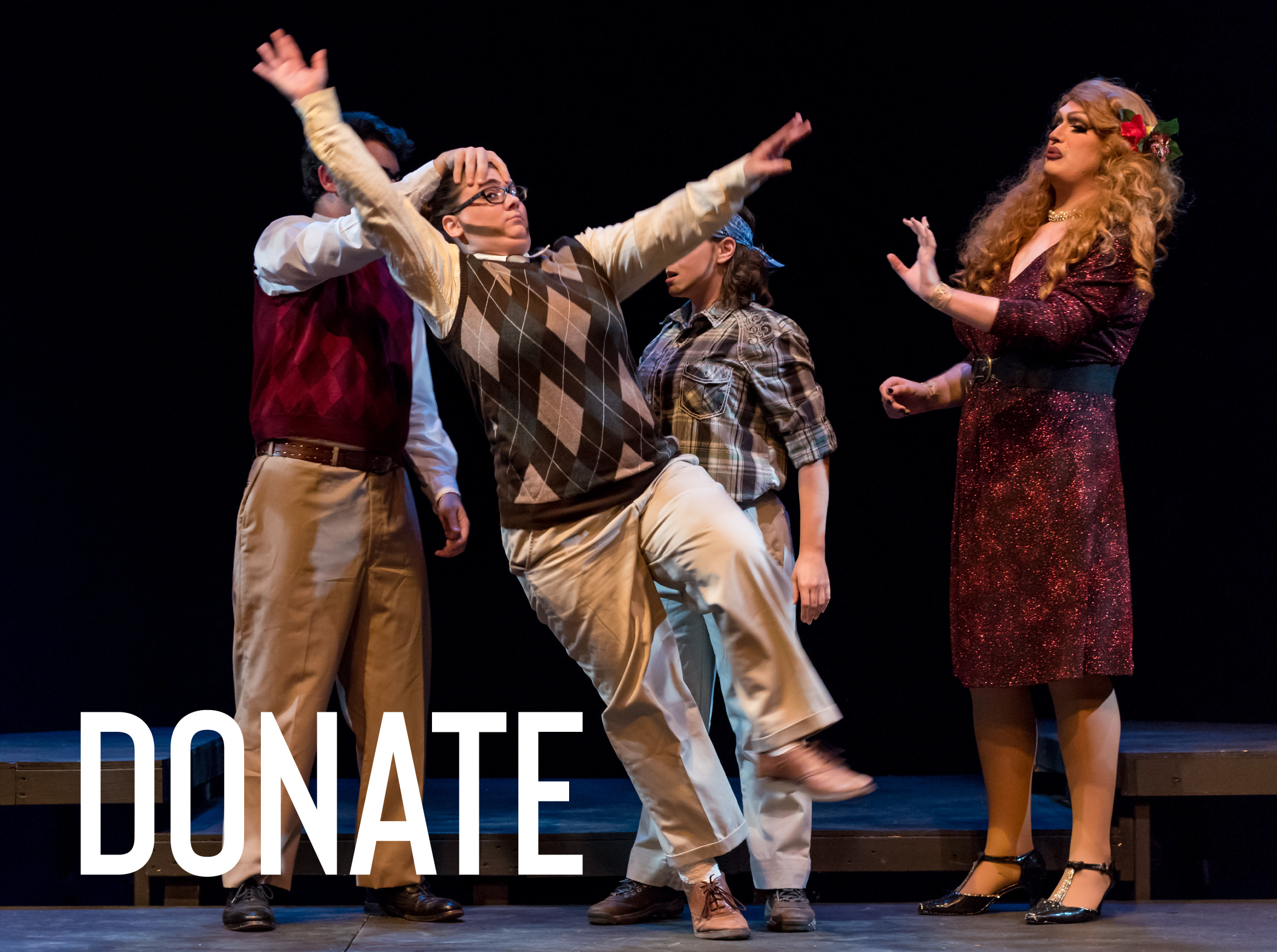 There are a number of ways to contribute - To continue our legacy of quality performances, Huntsville Shakespeare relies on both financial gifts and in-kind donations. For this summer's performance, we're actively seeking in-kind donations of:- costume items- set items- other items needed