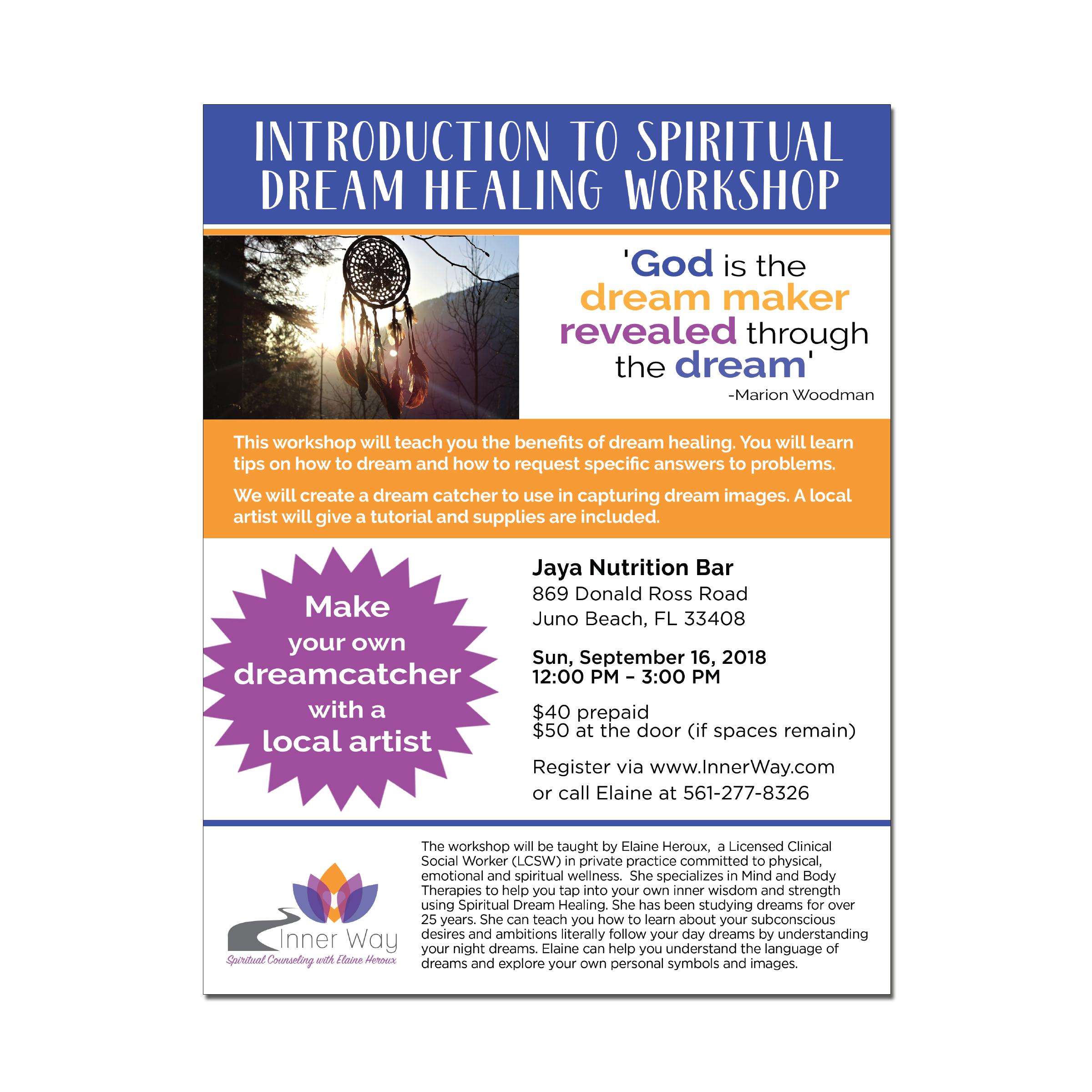 Workshop Event Print Ad