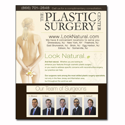 Plastic Surgery Clinic Flyer Design