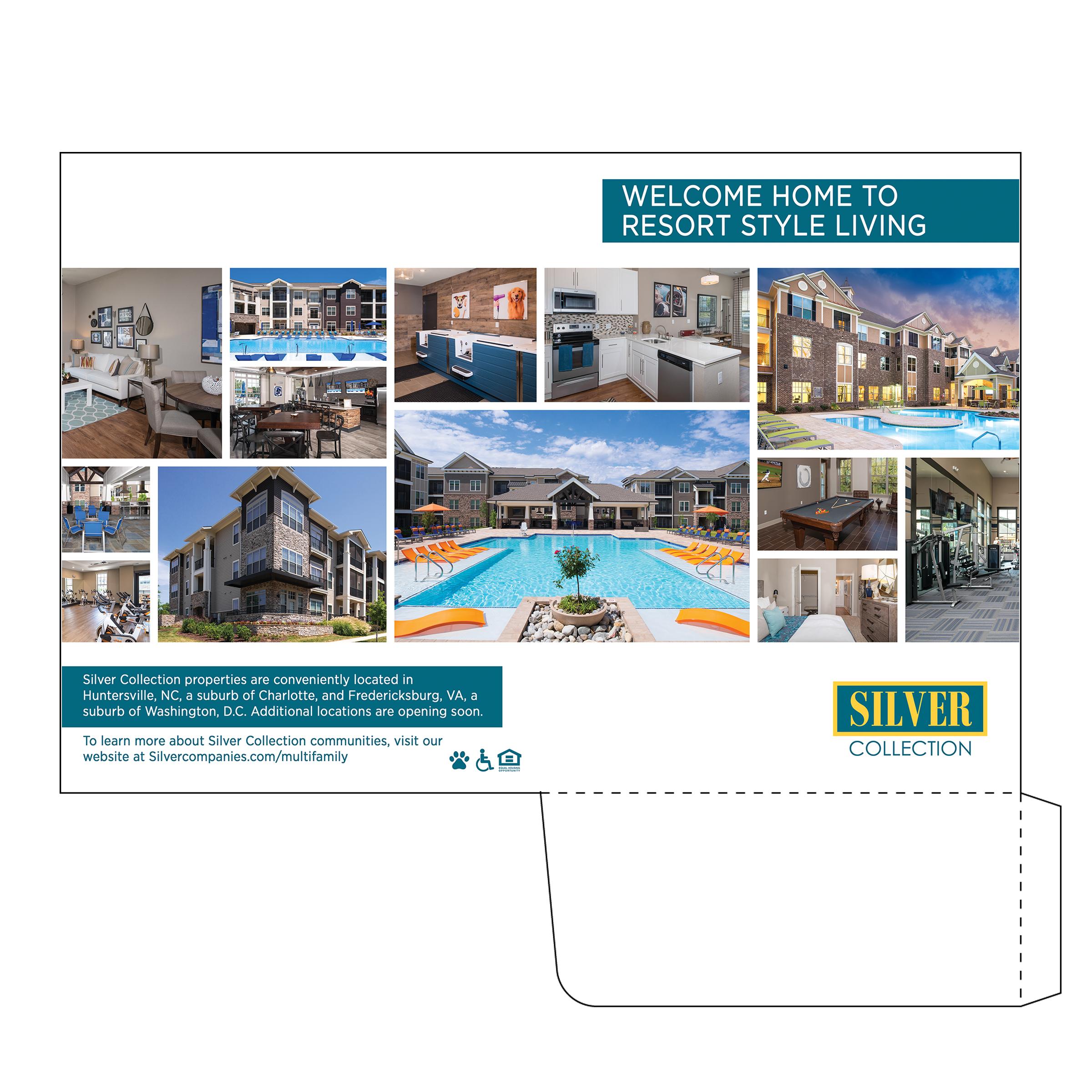 Apartment Complex Folder Design