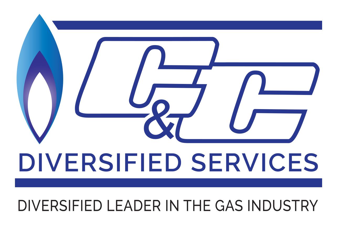 C & C Diversified Gas Company Logo Design in Stuart, FL