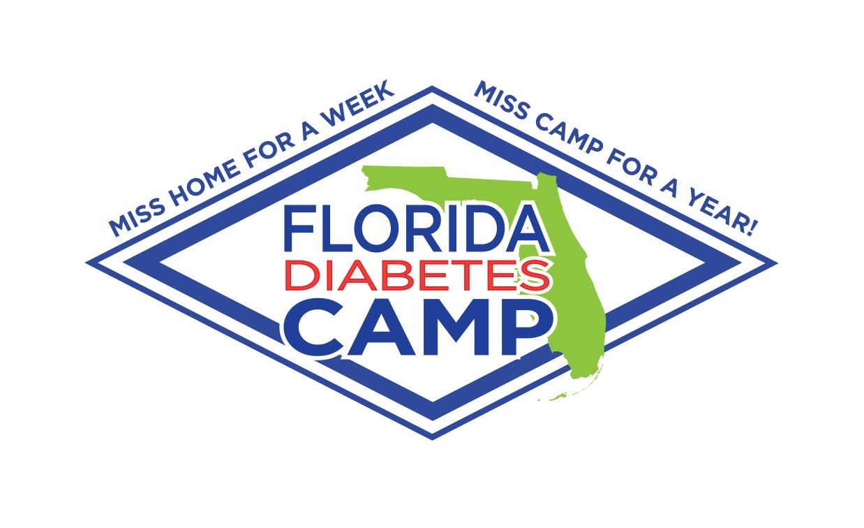 Florida Diabetes Camp Logo Design in Gainesville, FL