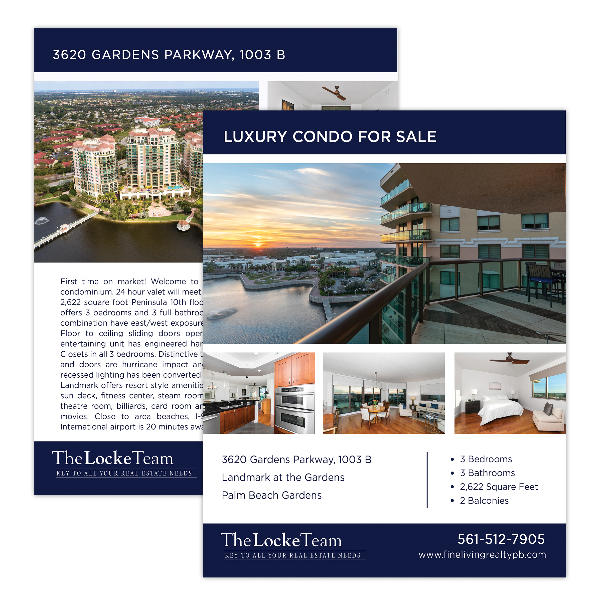 Real Estate Property Double Sided Flyer Design