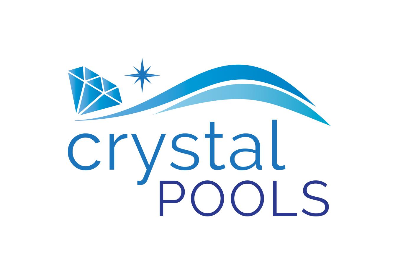 Crystal Pools Logo Design