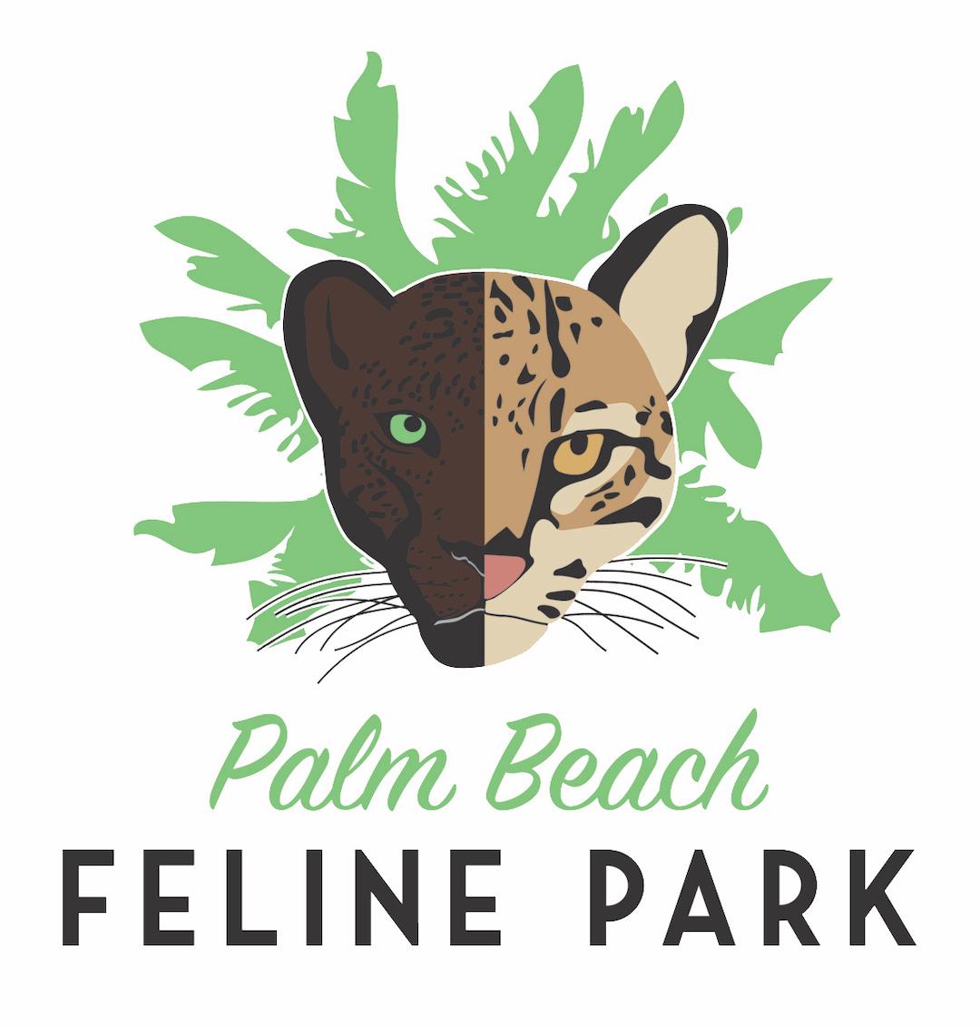 Palm Beach Feline Park Logo Design