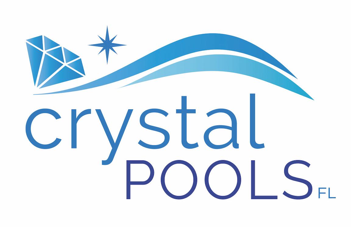 Crystal Pool Service Logo Design in Jupiter