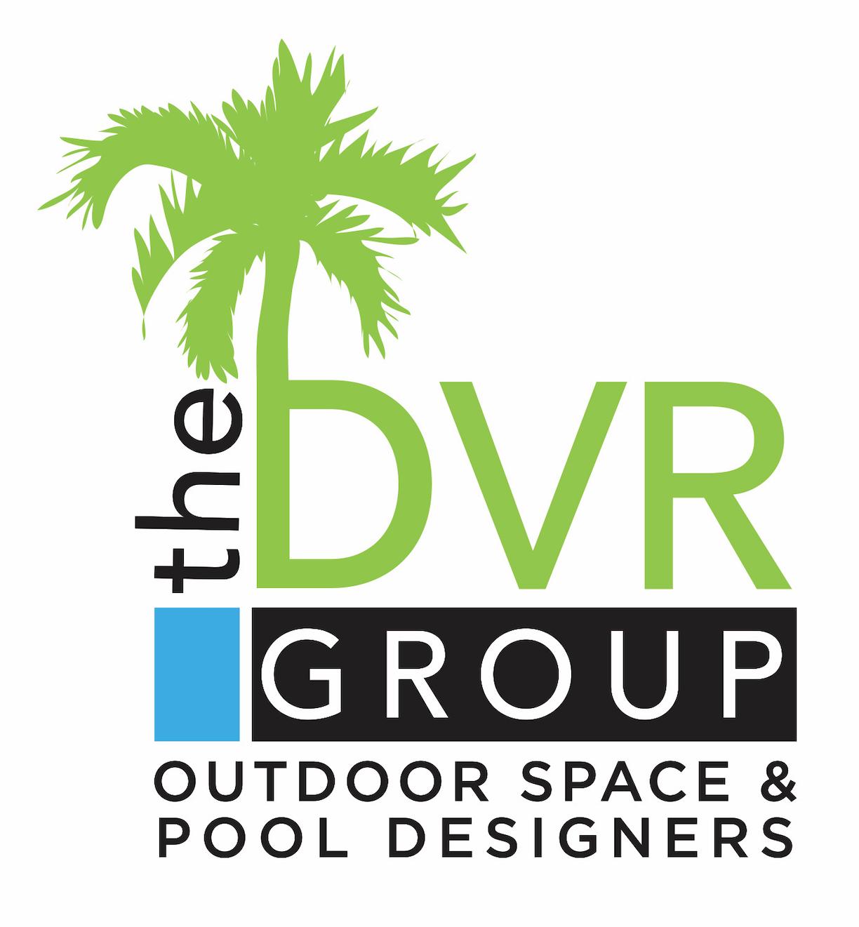 DVR Group Pool Builder Logo Design in Jupiter