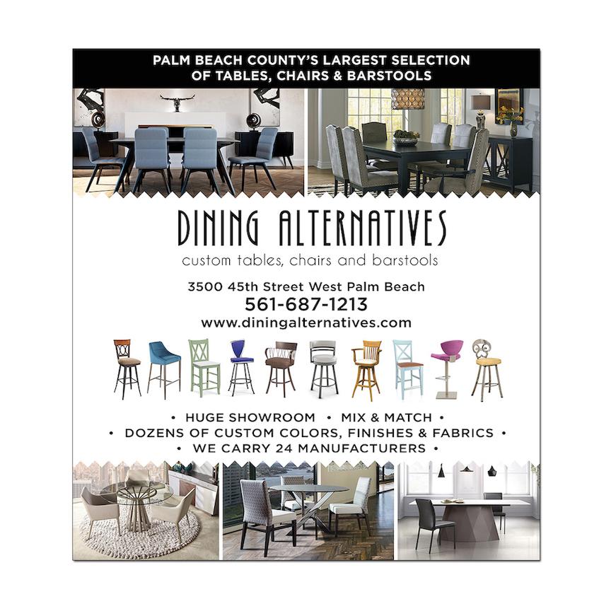 Dining Alternatives Print Ad Design